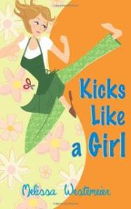 kicks-like-girl-melissa-westemeier-paperback-cover-art