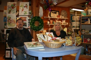 Al & Diane Gilbert Madsen - Book signings Nov. 2009 009